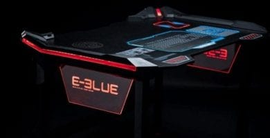 Escritorio gaming E-Blue EGT536BKAA-IA